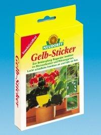 Neudorff 33433  Gelb-Sticker 10 Stück - 1
