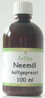 Lavita Neemöl kaltgepresst 100ml -